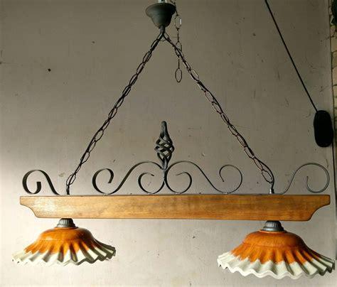 ladari in ferro battuto rustici bilanciere ladario rustico ferro battuto terracotta e