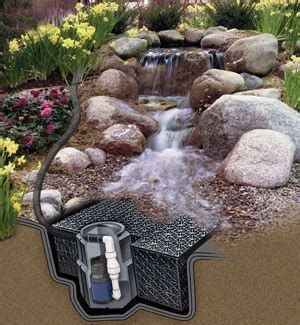 get the deluxe diy waterfall pond kit at walmart com save cascading falls diy kit pond less waterfall the pond guy