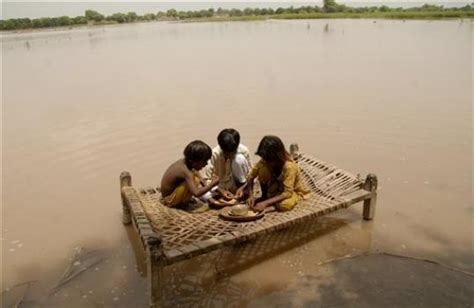 Floods In Pakistan 2010 Essay by Floods Make Victims Vulnerable To Taliban Risk The Express Tribune