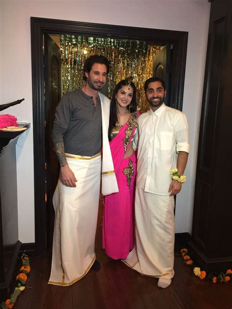 Sunny Leone celebrates brother Sundeep's wedding