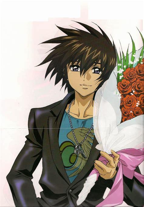 karakter anime  tampan  keren aria  tirta