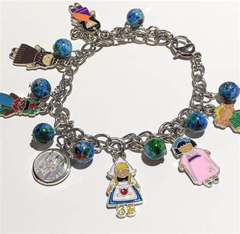 it s a small world inspired charm bracelet disney