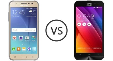 Samsung J5 Vs Zenfone 2 Samsung Galaxy J5 Vs Asus Zenfone 2 Laser 5 0 Phone Comparison
