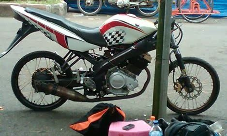Lu Projie Untuk Satria motor drag vixion blok satria fu surabaya
