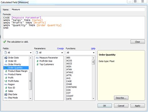 tableau tutorial calculated field breaking bi dynamically choose the fields displayed on a