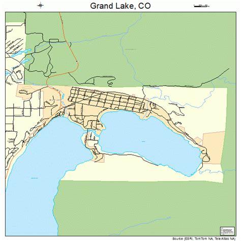 grand in colorado map grand lake colorado map 0831715