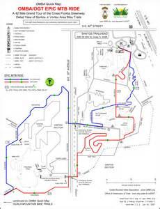 florida trail map pdf maps