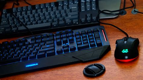Asus Mouse Cerberus asus cerberus keyboard mouse review techporn