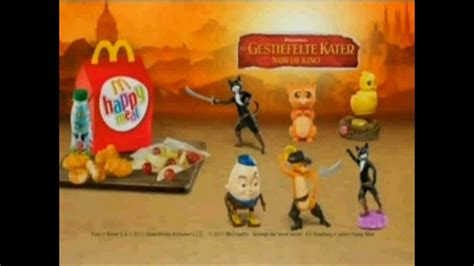 Happy Meal Mc Donald Puss In Boots 1 happy meal puss in boots der gestiefelte kater