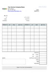 Data Item Description Template simple 2 column service bill sle