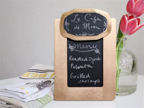 chalkboard diy gifts diy s day gift chalkboard menu board