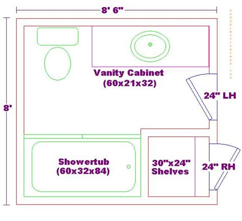 Bathroom Floor Plans 7 X 10 Foundation Dezin Decor Bathroom Plans Views