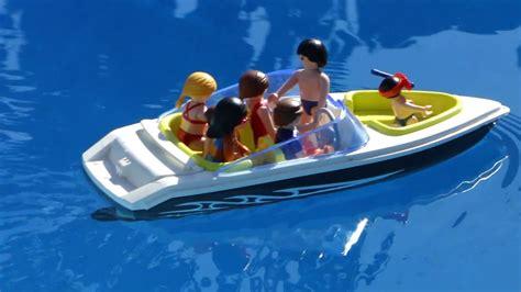 playmobil boat playmobil boat bateau vacances family youtube