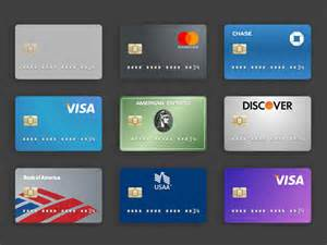 Credit Card Template Html 25 Generic Flat Credit Card Icons Vector Png Commercial Use