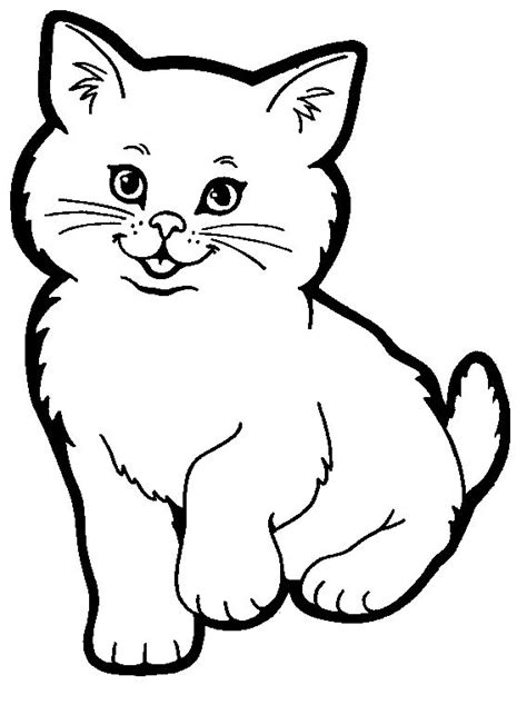 bad cat coloring page cat coloring pages a good way to teach kids to love cats