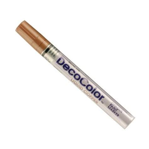 home depot paint markers marvy uchida decocolor copper broad point paint marker 300