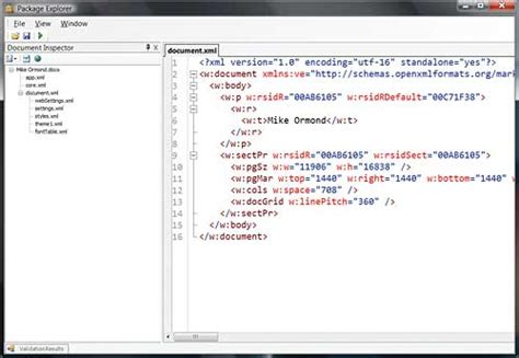 tutorial open xml programming office documents with open xml xml tutorial