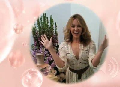 A Message From Minogue by Minogue A Un Message Commercial Pour Vous
