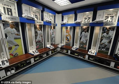 live changing room real madrid 1 0 city result uefa chions league 2016 daily mail