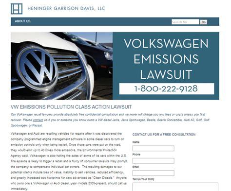 files class lawsuit amid volkswagen