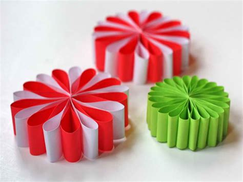 How To Make Paper Ornaments - ornaments easy to make