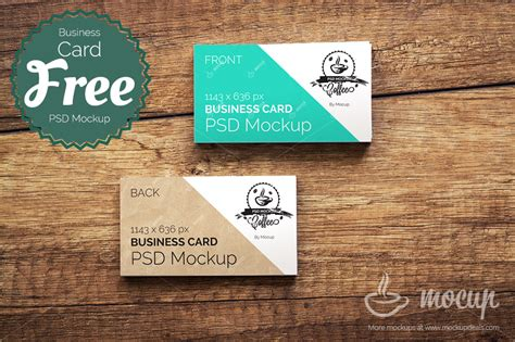 Rate Card Template Psd by Free Business Card Psd Mockup