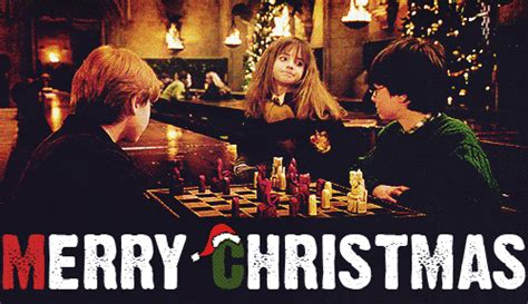 merry christmas harry potter photo  fanpop