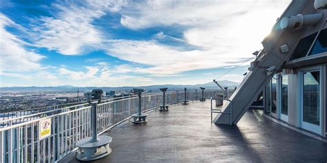 Don T Miss The Observation Deck Of The Stratosphere