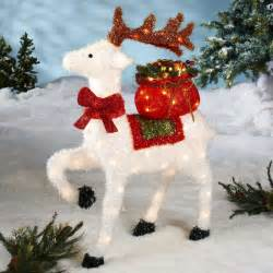 white reindeer decorations 26 charming reindeer decoration ideas godfather style