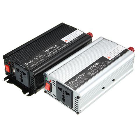New Arrival Power Inverter 1500 W Dc 12v Ke Ac 220v Merk Sumura Lp solar power inverter 1500w dc 12v to ac 220v modified sine wave converter us ebay