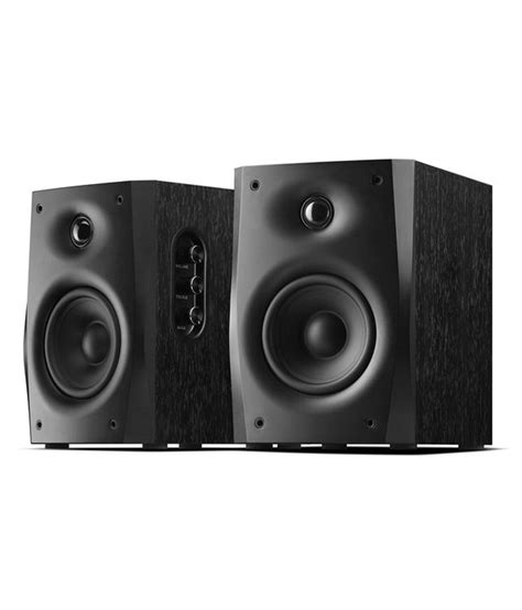 buy swans d1010 iv powered bookshelf speakers at
