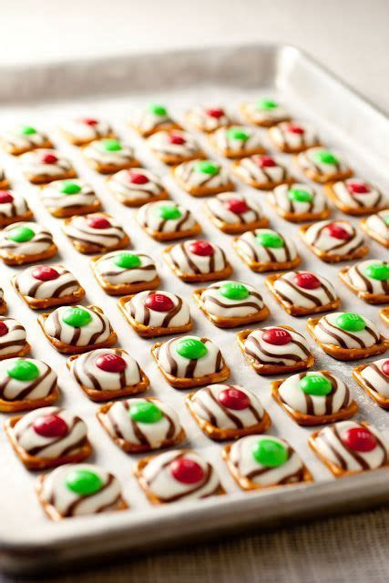 christmas time snacks pretzel m m cookies this snack is a must in my house for the time they melt in your