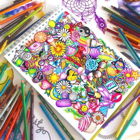 the doodle book draw colour create picline la deco avec vos photos