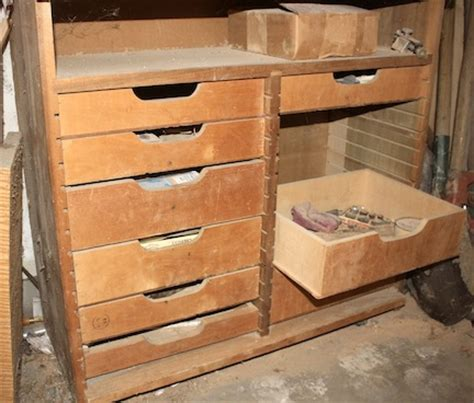 building workbench drawers - Schubkasten Bauen