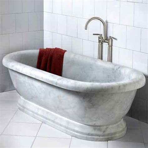 marble bathtub sculptural soaking tub free shipping to your home address