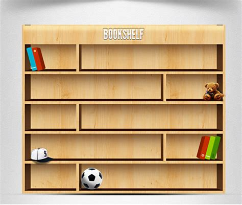 bookshelf free vector graphic