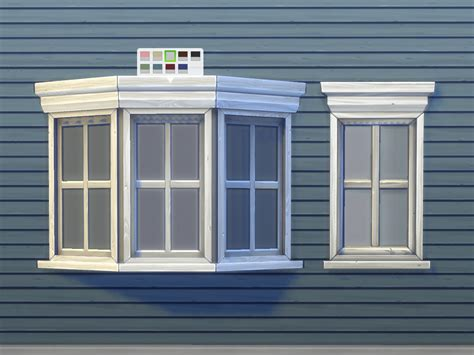 pictures of bay windows my sims 4 blog casement bay window by plasticbox mts