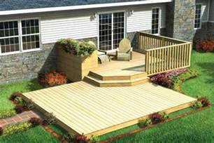 exteriors perfect small deck design ideas for small