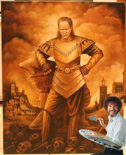bob ross painting vigo bob ross pictures and jokes pictures best jokes