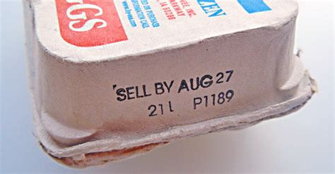Shelf Of Eggs After Sell By Date by Cracking The Date Code On Egg Cartons Unl Food