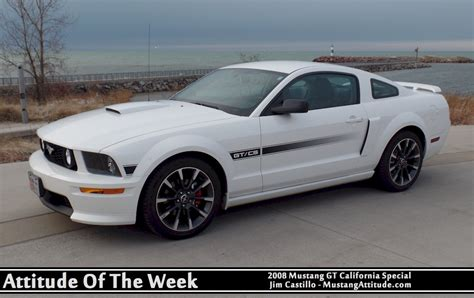 california special mustang 2008 performance white 2008 ford mustang gt california special