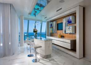 interior design miami style home pfuner design oceanfront penthouse contemporary home bar miami by pfuner design