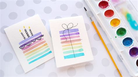 supplies for card easy diy birthday cards using minimal supplies