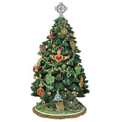 irish christmas tree the danbury mint
