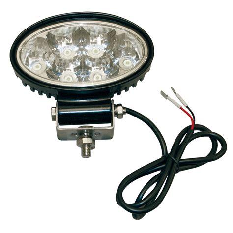 Buyers 1492113 6 Led Clear Oval Led Flood Light 49 22 Clear Lights