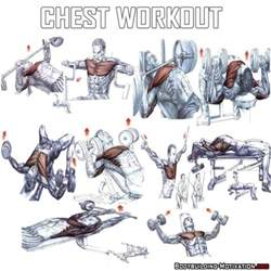 best chest workout fitness health