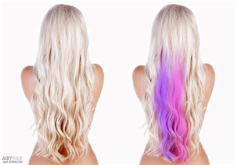 color hair extensions clip in buy clip in extensions color pop highlights airyhair