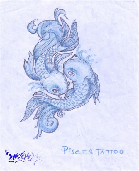 pisces horoscope tattoo designs pisces tattoos and designs page 22