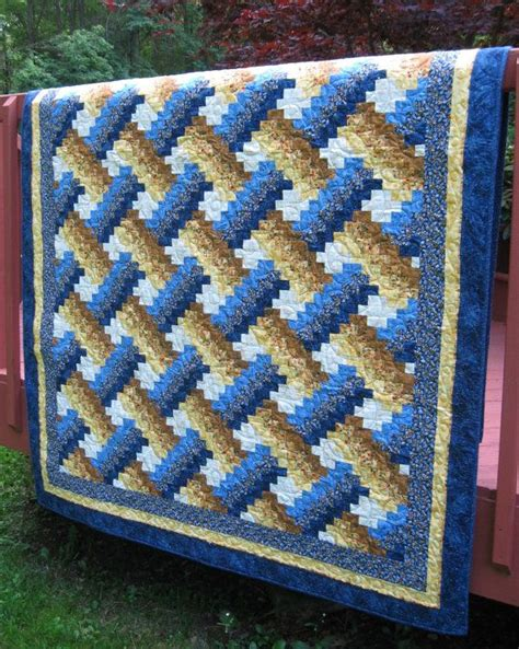quilts for twin beds twin bed quilt weaver fever pattern in blue yellow and white