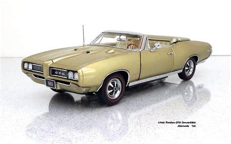 pontiac 1968 models diecast mania 1968 pontiac gto convertible a 1 24 scale
